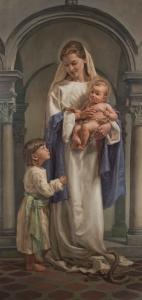 Corso di pittura firenze 2019 - Madonna del soccorso