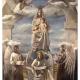 Madonna con bambino in trono degli angeli