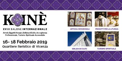 kOINè 2019 Scuola di arte sacra firenze
