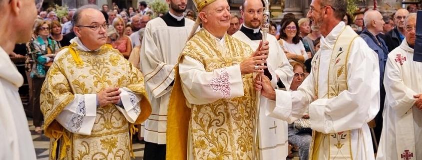 Consegna del Pastorale per il Vescovo Mons. Bellandi