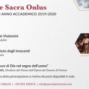 Inaugurazione Scuola di arte sacra 2019
